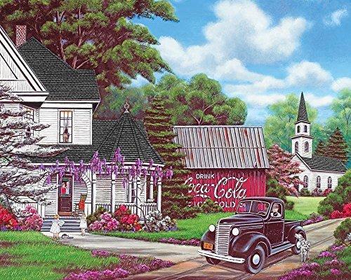 Springbok Coca-Cola Country Jigsaw Puzzle 1000-Piece by Springbok
