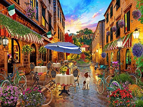 Biking Through Italy Jigsaw Puzzle 550 Piece