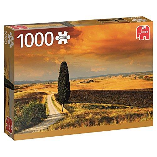 Jumbo Tuscan Sunset Italy Jigsaw Puzzle 1000 Piece