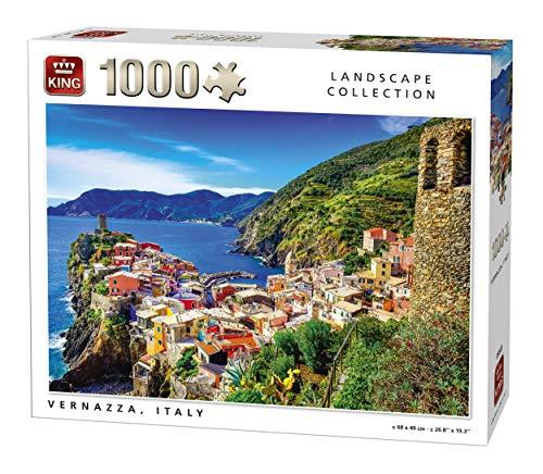 KING 5665 Vernazza Italy Jigsaw Puzzle 1000-Piece 68 x 49 cm