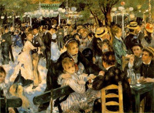 Le Moulin de la Galette Pierre Auguste Renoir - Masterpiece Jigsaw Puzzle 500pc