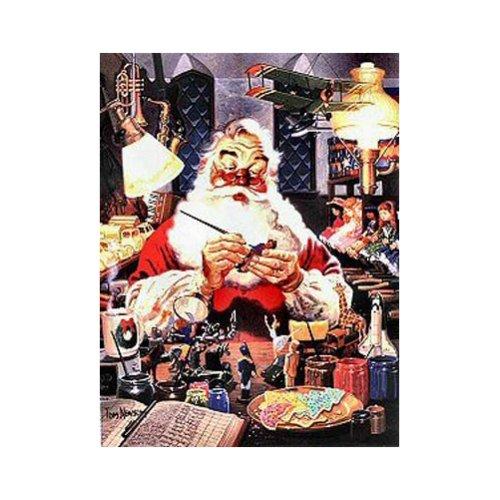 Santas Masterpiece Jigsaw Puzzle 1000pc