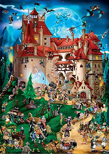 D-Toys Cartoon Collection - Transylvania Jigsaw Puzzle 1000-Piece