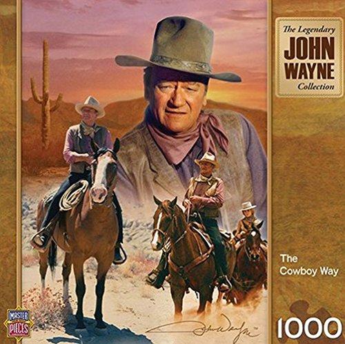 John Wayne The Cowboy Way 1000 pc Puzzle