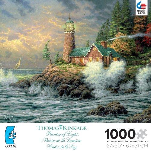 Thomas Kinkade Courage 1000 Pc Puzzle