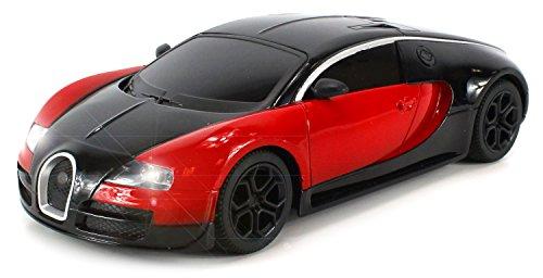 Diecast Bugatti Veyron Super Sport Electric RC Car Full Metal Body 124 RTR