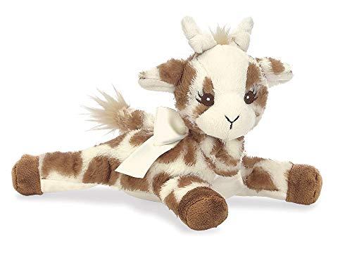 Bearington Baby Patches Plush Stuffed Animal Giraffe with Rattle 8 inches