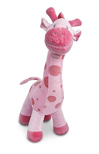 Gitzy 12 Plush Giraffe - Stuffed Animal for Toddlers Pink