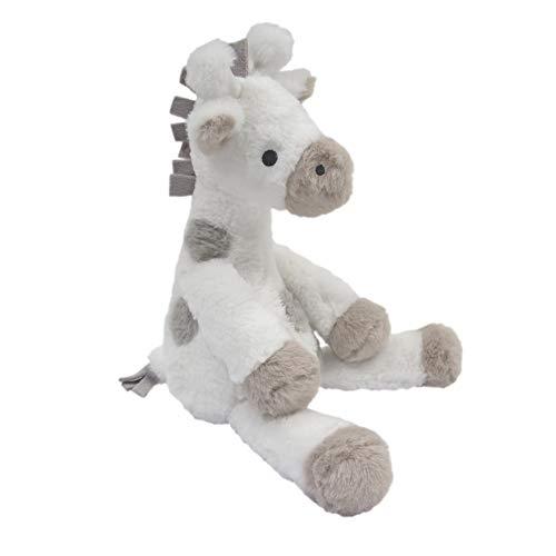 Lambs Ivy Signature Goodnight Giraffe Moonbeams Plush Giraffe Stuffed Animal 115 Inch - Millie - GrayWhite