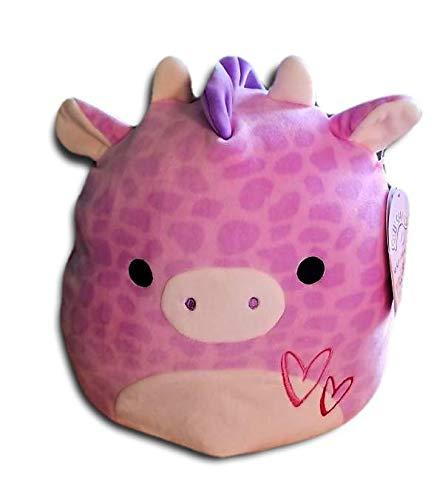 Squishmallows 11 Jazzy The Pink Valentine Giraffe Stuffed Animal Plush Pillow Pet
