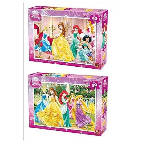 Disney Princess 50 Piece Jigsaw Puzzle Size 244cm x 177cm 5280B