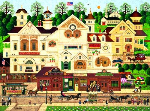 Buffalo Games Charles Wysocki Derby Square - 1000pc Jigsaw Puzzle