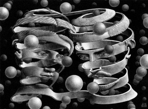 Buffalo Games MC Escher Bond of Union - 1000pc Jigsaw Puzzle