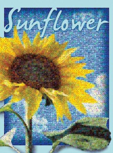 Buffalo Games Photomosaic Sunflower - 1000pc Jigsaw Puzzle