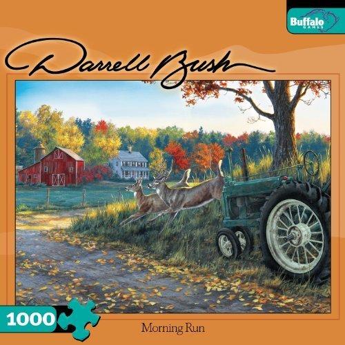 Darrell Bush Morning Run 1000pc Jigsaw Puzzle by Buffalo Games