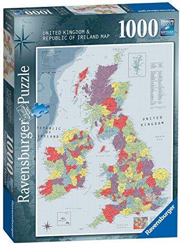 Ravensburger British Isles Map 1000pc Jigsaw Puzzle