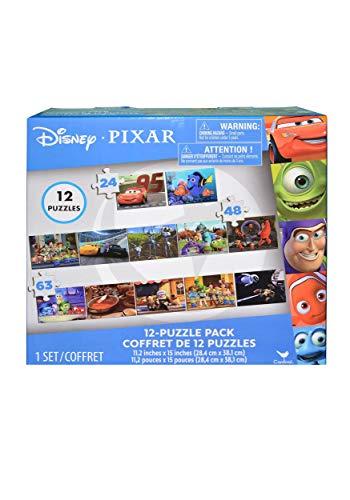 United Pacific Designs Disney Pixar Puzzle Pack 12 Piece Standard