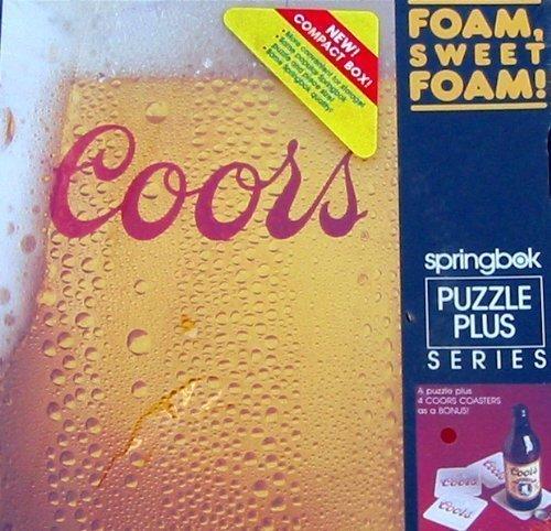 Coors Foam Sweet Foam Jigsaw Puzzle by Springbok