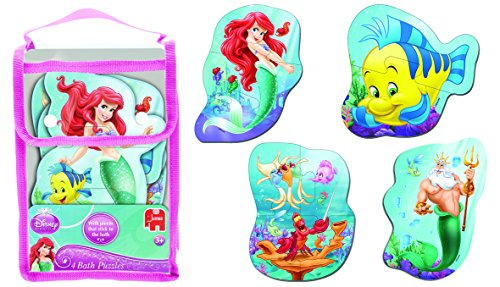 Jumbo Games Disney Princess Ariel Foam Bath Time Jigsaw Puzzle