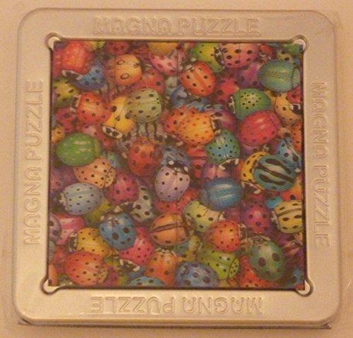 3-D Magna Puzzle Lady Bugs 16 Piece Puzzle
