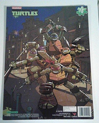 Teenage Mutant Turtles 16 Piece Puzzle