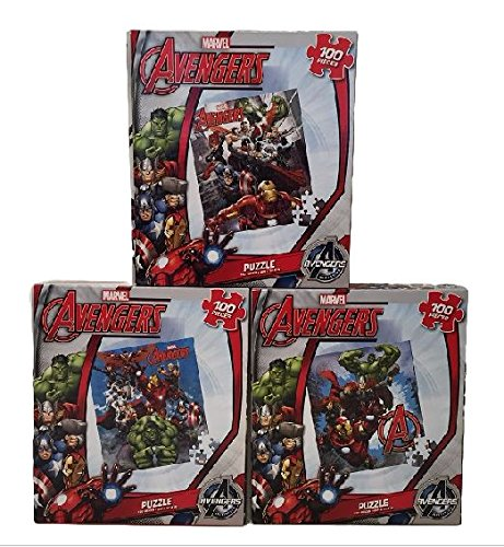 Marvel Avengers Puzzle Bundle Heroes Activity Set of 3