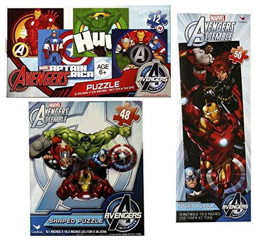 Marvel Avengers Puzzle Set