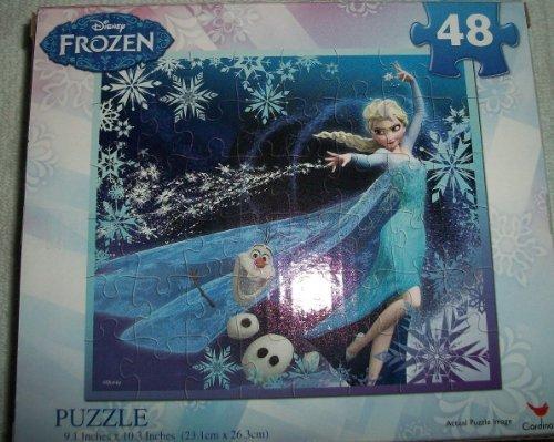 Disney Elsa Frozen 48 Piece Puzzle 91 x 103