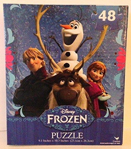 Disney Frozen 48 piece Puzzle Anna Kristoff Olaf Sven