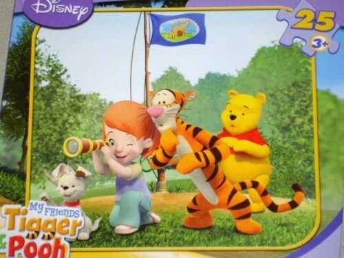 My friends Tigger and Pooh 25 piece jigsaw puzzle 9 18 x 10 38