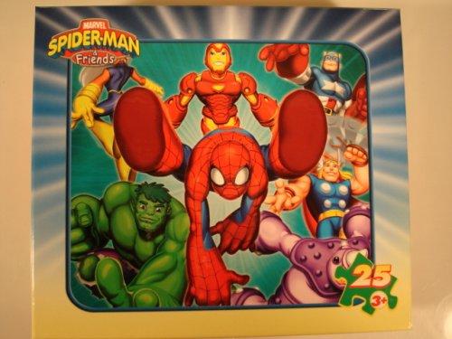 SPIDER-MAN FRIENDS 25 PIECE JIGSAW PUZZLE