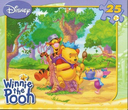Winnie the Pooh Celebrate 25 piece Jigsaw Puzzle Set