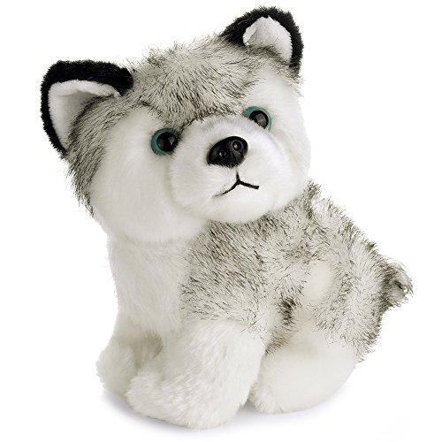 8Lovely Plush Dog Siberian Husky Soft Stuffed Animal Puppy Toy