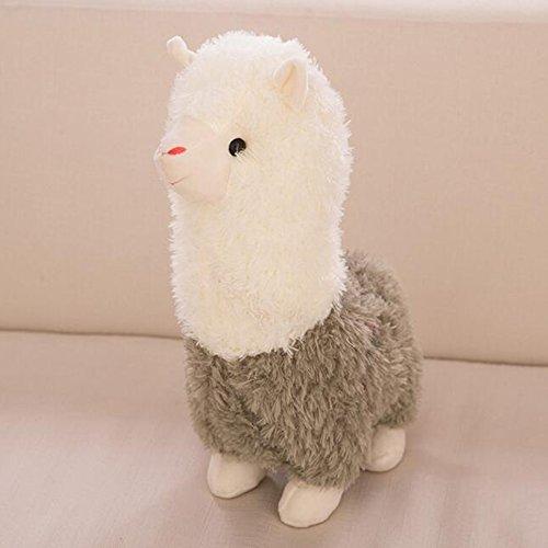 Dongcrytal 138Green Alpaca Plush Toy Soft Stuffed Animal Doll Sheep Toy