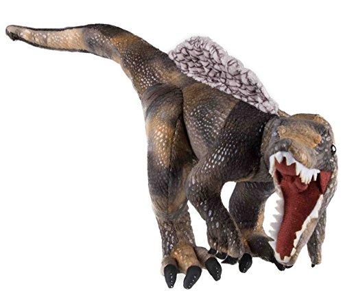 Plush Green Veloceraptor Dinosaur - Ultra Soft Stuffed Animal
