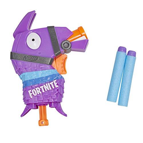 Fortnite Llama Nerf Microshots Dart-Firing Toy Blaster 2 Official Elite Darts
