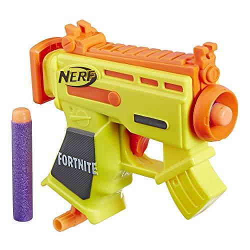 NERF Fortnite Micro AR-L Microshots Dart-Firing Toy Blaster 2 Official Elite Darts for Kids Teens Adults