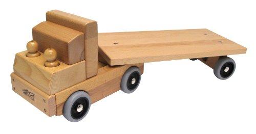 ECR4Kids Flat Bed Truck Transportation Vehicle