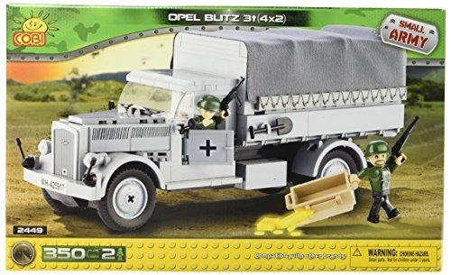 Small Army 2449 WW II german transportation vehicle Opel Blitz 3-tons 4x2 350 building bricks by Cobi by Small Army
