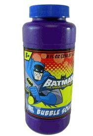 Batman Bubbles 16 Ounce - Kids Bubbles and Wand
