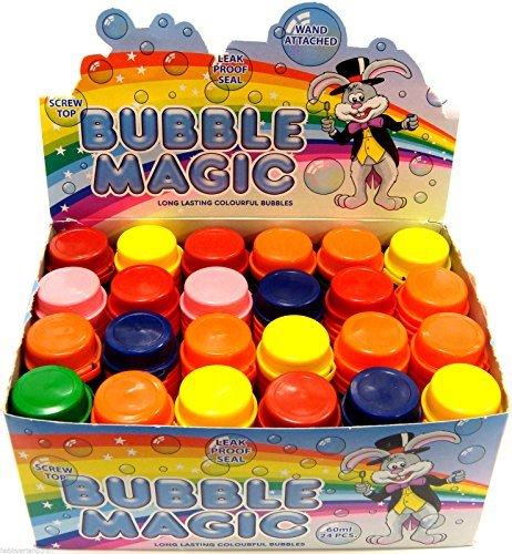 Bubble Magic Kids Bubbles Party Bag Fillers Childrens Party Bubbles Blow Bubbles by HTI