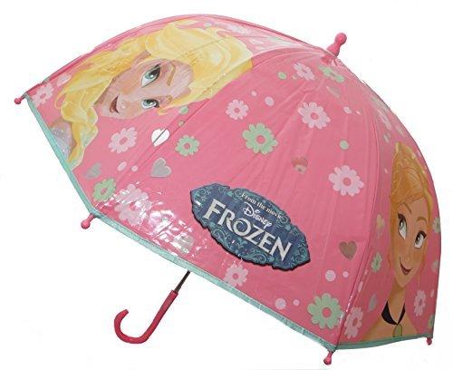 Official Disney Frozen Kids Bubble Dome Umbrella Anna Elsa by Disney Frozen