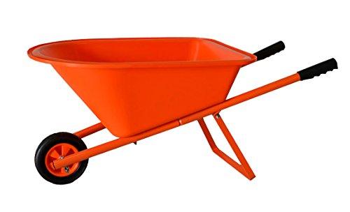 Childrens Wheelbarrow - Orange Kids Garden Tool Product SKU GT25007