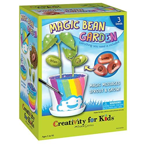 Creativity for Kids Magic Bean Garden Reveal Grow Magic Messages - Nature Garden Kit For Kids
