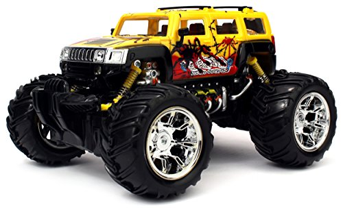 Graffiti H2 SUV Electric RC Truck 116 Scale Big Size Off Road Monster Truck RTR Ready To Run High Quality Colors May Vary