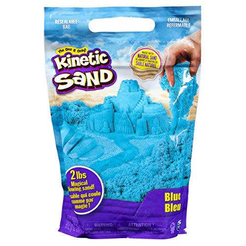 Kinetic Sand The Original Moldable Sensory Play Sand Blue 2 Lb