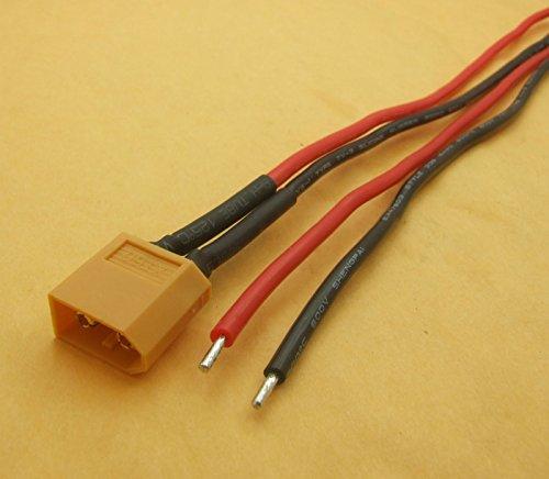 Sangdo 4PCS XT-60 plug 16AWG silicone cable 20CM for Battery Plug RC Model PlaneAircr