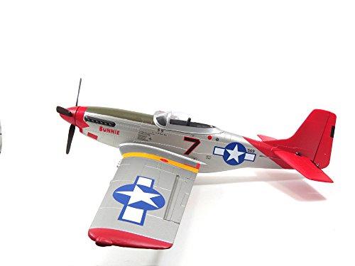 FMS 800mm P51 2nd Fly RTF Brushless Motor RC Jet V2 Red