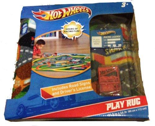Hot Wheels Play Rug