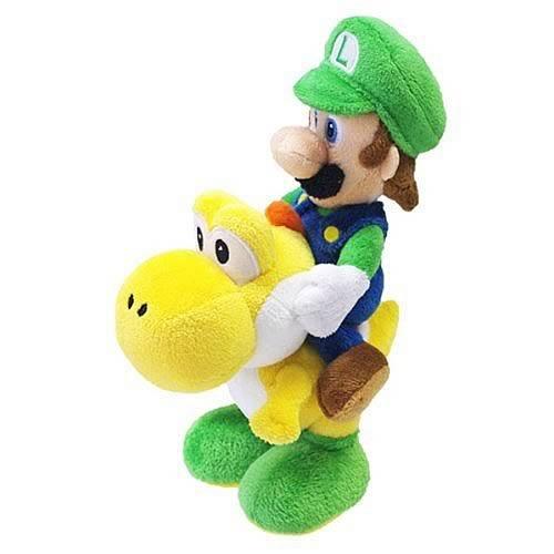 Nintendo Official Super Mario Luigi Riding Yoshi Plush 8